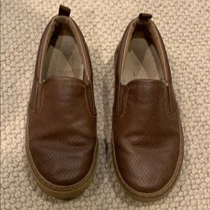 Gap leather loafers